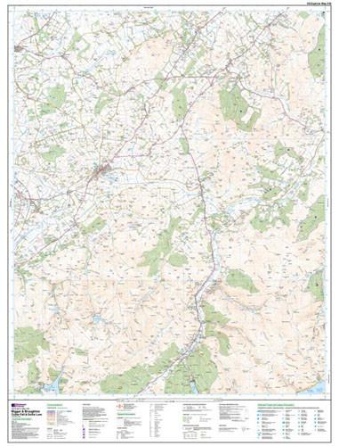 Folded Maps - Biggar Broughton Explorer Map - Ordnance Survey