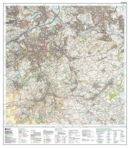 Bradford Huddersfield Explorer Map Ordnance Survey Map Marketing