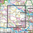 Folded Maps - Chiltern Hills West Explorer Map - Ordnance Survey