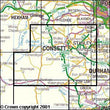 Folded Maps - Consett Derwent Reservoir Explorer Map - Ordnance Survey