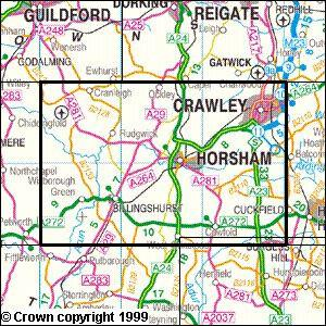 Crawley Horsham Explorer Map Ordnance Survey Map Marketing