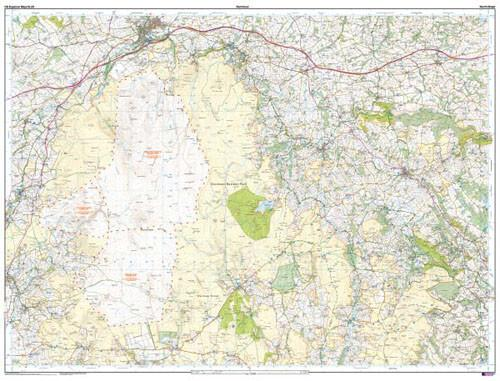 Folded Maps - Dartmoor Explorer Map - Ordnance Survey