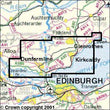 Folded Maps - Dunfermline Kirkcaldy Explorer Map - Ordnance Survey