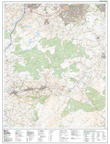 Folded Maps - East Kilbride Galston Darvel Explorer Map - Ordnance Survey