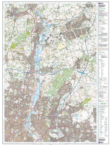 Folded Maps - Epping Forest Lee Valley Explorer Map - Ordnance Survey