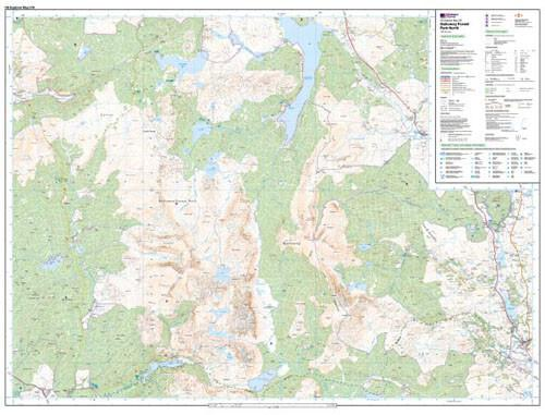 Folded Maps - Galloway Forest Park North Explorer Map - Ordnance Survey