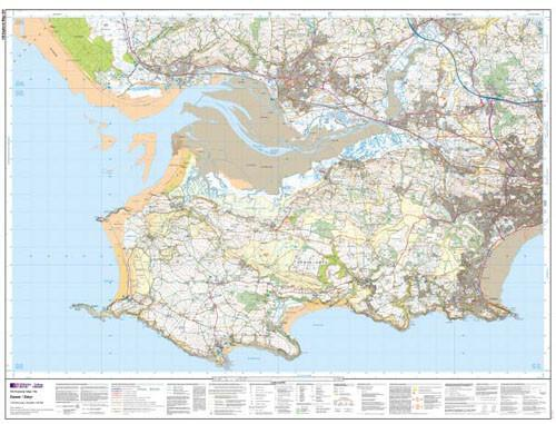 Folded Maps - Gower Llanelli Explorer Map - Ordnance Survey