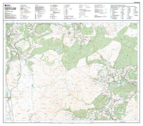 Folded Maps - Grantownon Spey Explorer Map - Ordnance Survey