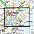 Folded Maps - Ipswich Felixstowe Harwich Explorer Map - Ordnance Survey