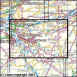 Folded Maps - Motherwell Coatbridge Explorer Map - Ordnance Survey