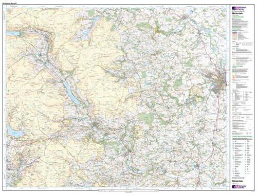 Folded Maps - Nidderdale Explorer Map - Ordnance Survey
