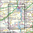Folded Maps - Perth Kinross Explorer Map - Ordnance Survey