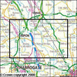 Folded Maps - Ripon Boroughbridge Explorer Map - Ordnance Survey