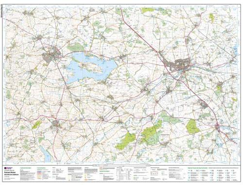 Folded Maps - Rutland Water Explorer Map - Ordnance Survey
