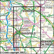 Folded Maps - Sherwood Forest Explorer Map - Ordnance Survey