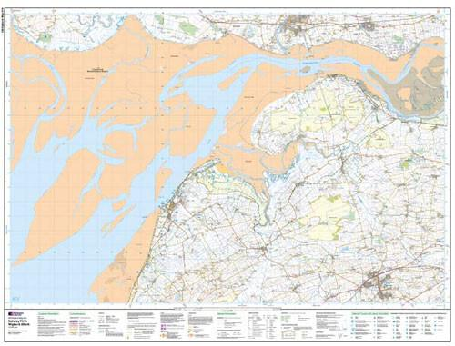 Folded Maps - Solway Firth Explorer Map - Ordnance Survey