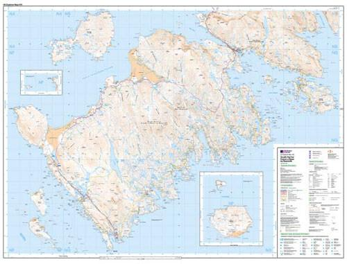 Folded Maps - South Harris Explorer Map - Ordnance Survey