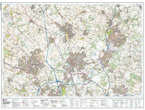 St Albans Hatfield Explorer Map - Ordnance Survey