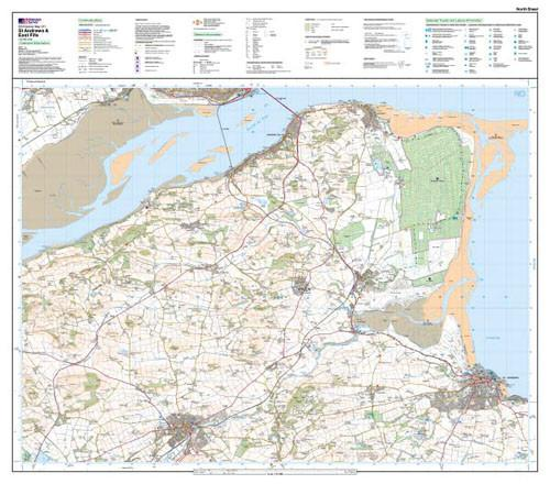 Folded Maps - St Andrews East Fife Explorer Map - Ordnance Survey