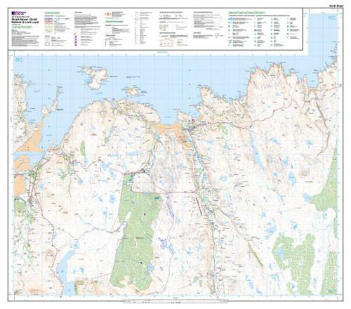 Folded Maps - Strath Naver Srath Nabhair Explorer Map - Ordnance Survey