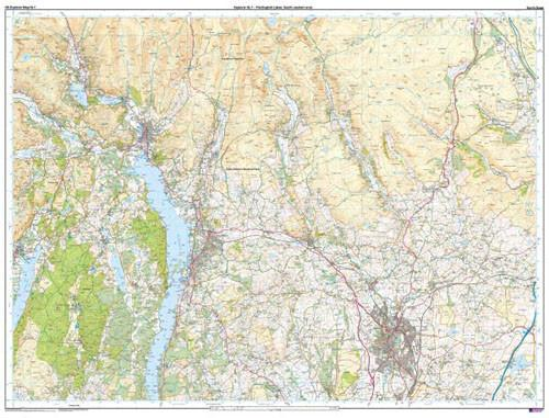 Folded Maps - The English Lakes SE Area Explorer Map - Ordnance Survey