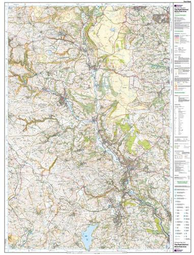 Folded Maps - The Peak District Explorer Map - Ordnance Survey