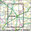 Folded Maps - Thetford Forest In The Brecks Explorer Map - Ordnance Survey