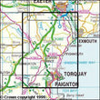 Folded Maps - Torquay Dawlish Newton Abbot Explorer Map - Ordnance Survey