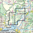 Folded Maps - Wye Valley Forest Of Dean Explorer Map - Ordnance Survey