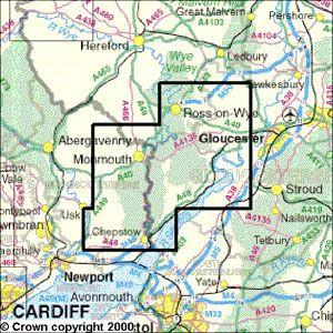 Forest Of Dean Map Forest Of Dean Map | Bedroom 2018