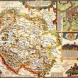 Herefordshire Historical Map 1000 Piece Jigsaw Puzzle (1610) - All Jigsaw Puzzles