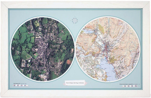 Map Gift - Aero-Carto Framed Wall Map