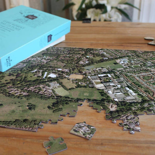 Map Gift - Personalised Aerial Photo Jigsaw Puzzle