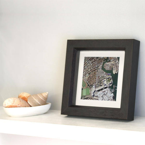 Map Gift - Personalised Box Framed Map Square