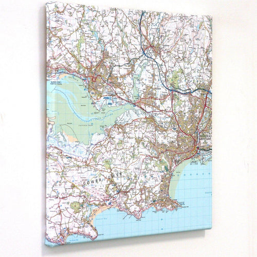 Map Gift - Personalised Canvas Maps