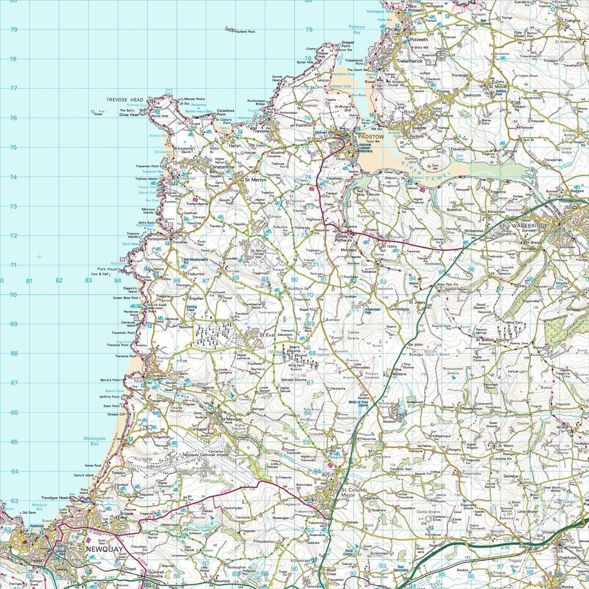 Map Gift - Personalised Ordnance Survey Landranger Map - Centred On Your Home