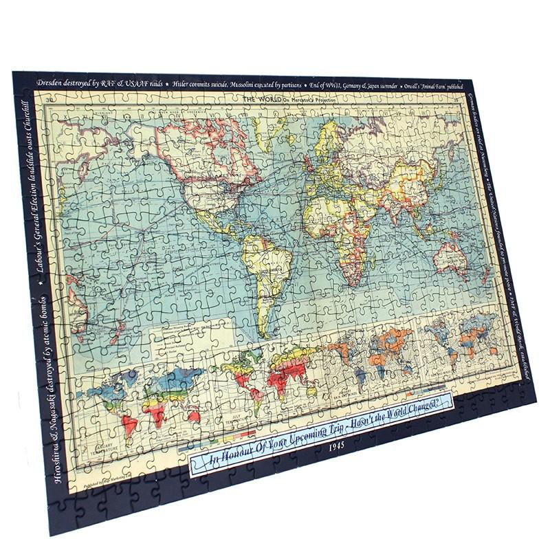 Personalised world map jigsaw puzzle butler and hill map marketing map gift personalised world map jigsaw puzzle gumiabroncs Choice Image