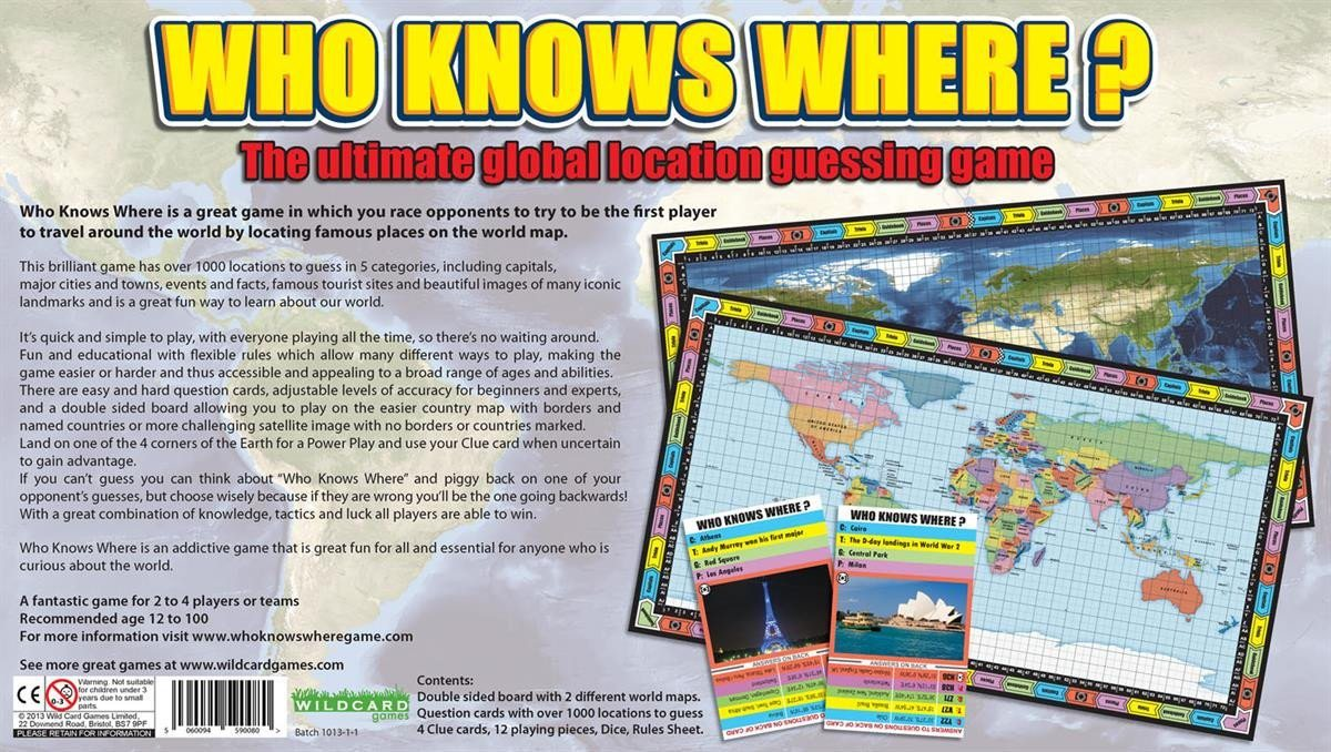 Who knows where global location guessing board game map marketing map gift who knows where global location guessing board game gumiabroncs Gallery