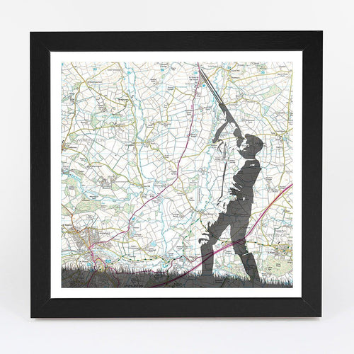 Wall Art - Personalised Shooting Adventure Map