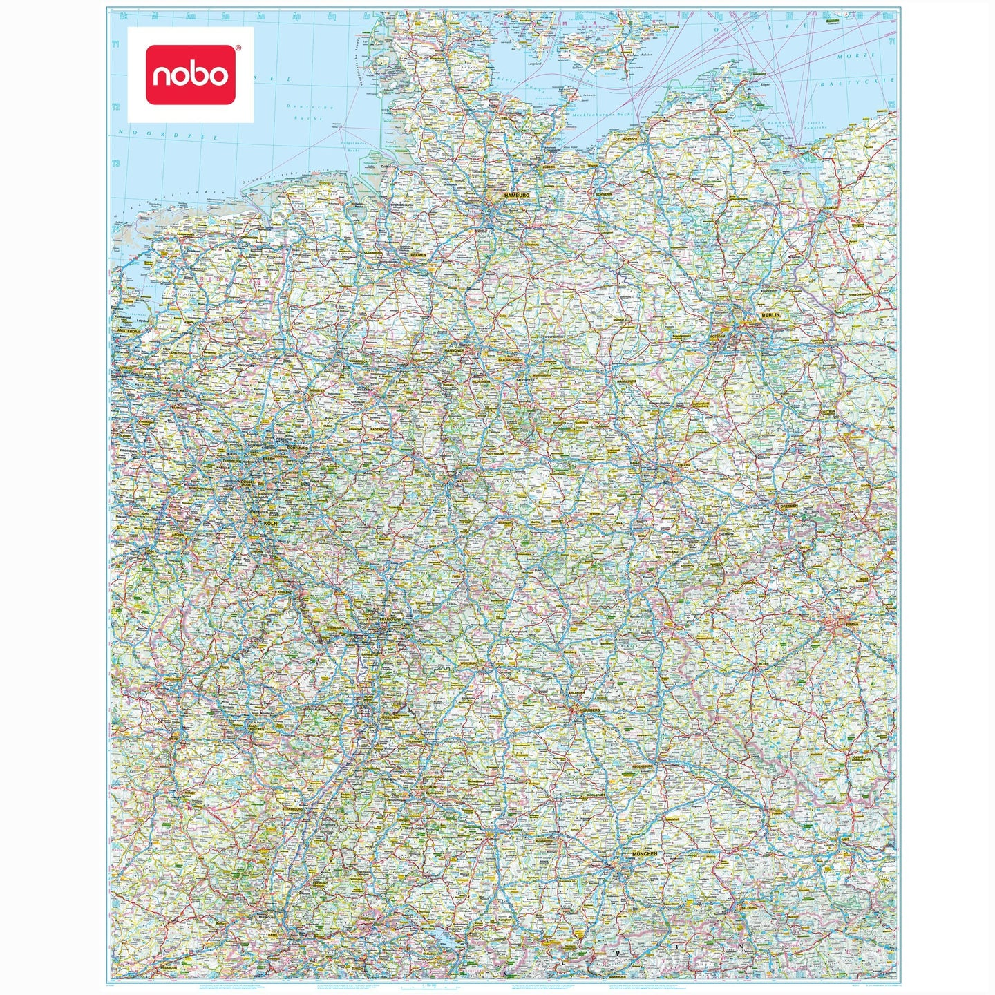 wall maps german political wall map germany map