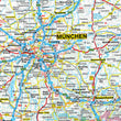 Wall Maps - German Political Wall Map - Germany Map