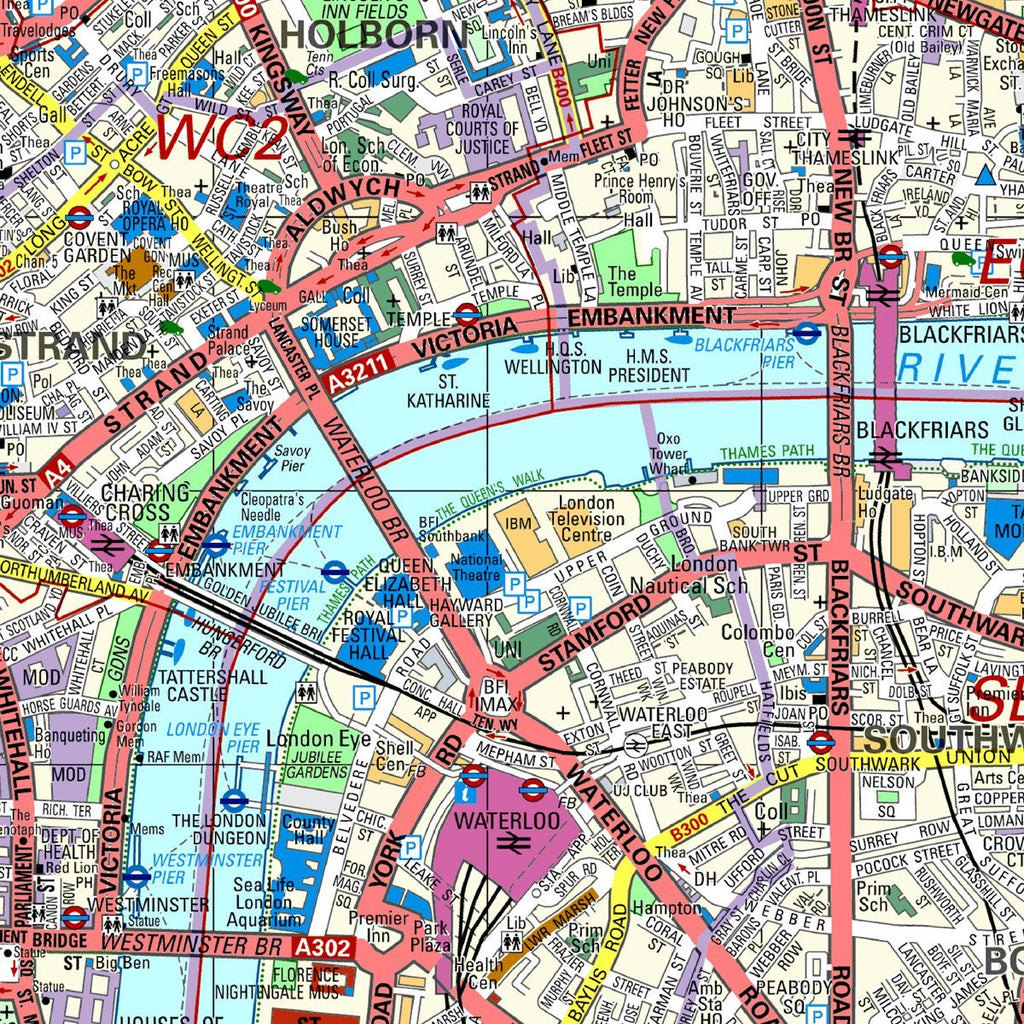 London Map Street.Customised Map Wallpaper London Street Mapping