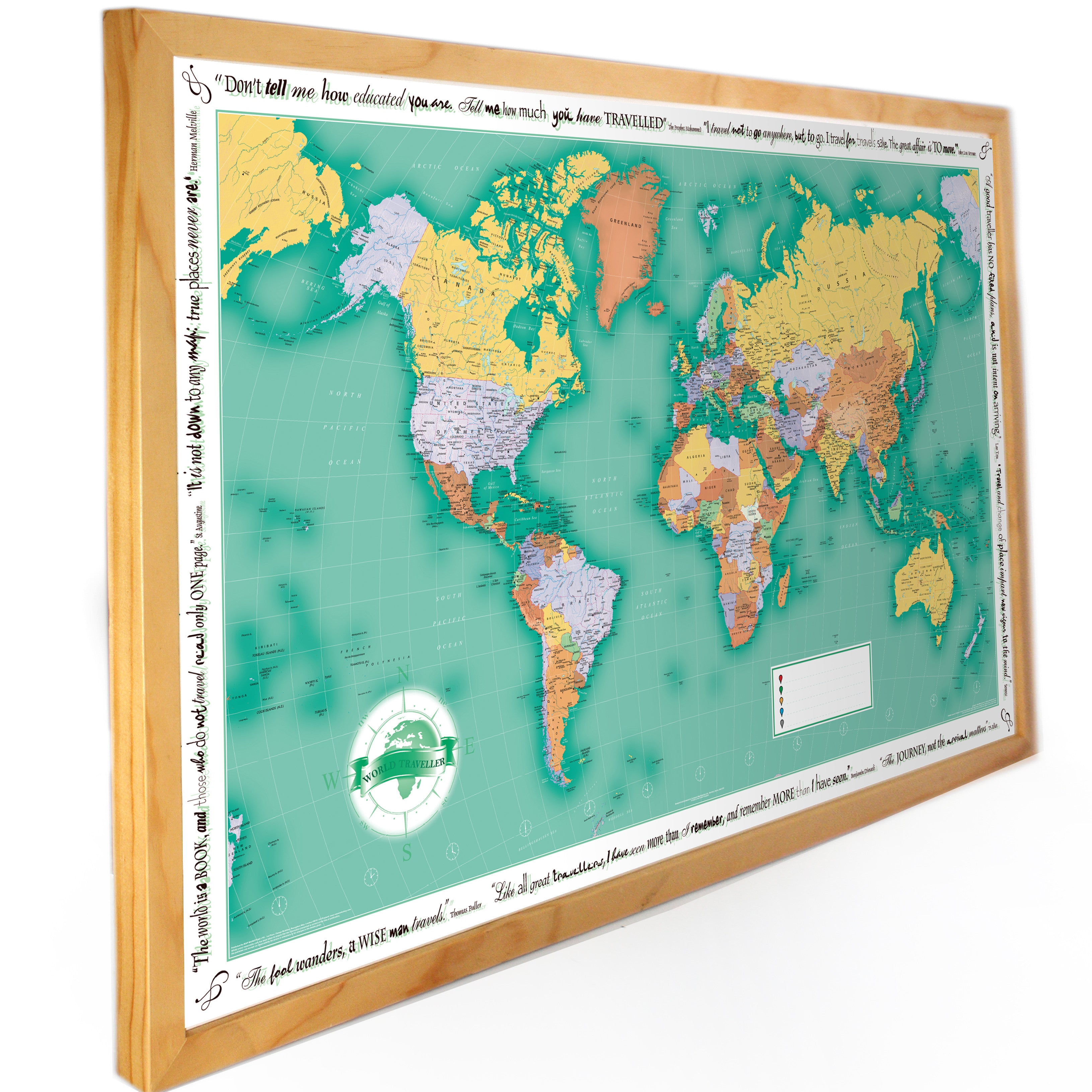 Personalised map gifts map marketing world map gifts personalised wall maps and map gift ideas from map marketing gumiabroncs Image collections