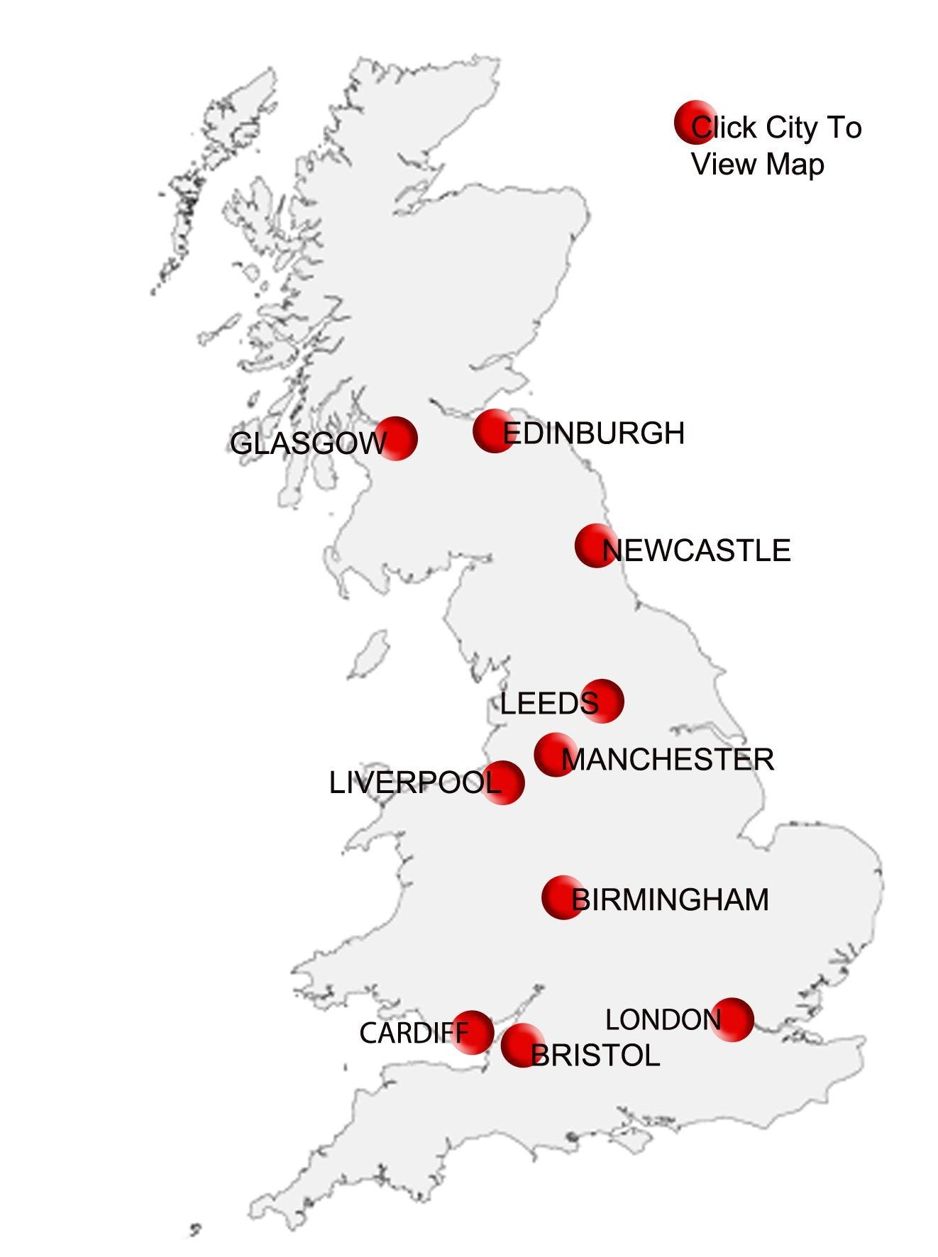Map Of Major Uk Cities.City Centre Maps Postcode Sector Map Uk Map Marketing