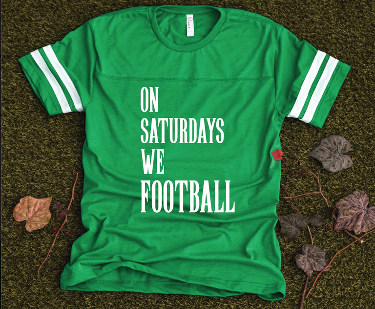 ON SATURDAY WE FOOTBALL