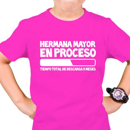 72.- Polera Hermana Mayor en Proceso