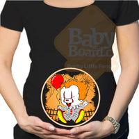 #145 Polera Halloween Embarazada IT