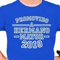 73.- Body - Polera Promovido a Hermano Mayor