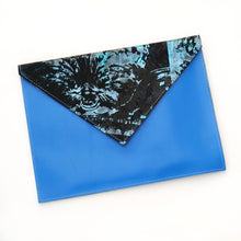 Large Leather Envelope Clutches - J D'Cruz
