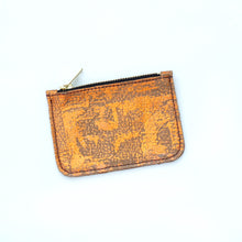 Picadilly Small Leather Zip Coin Purses - J D'Cruz